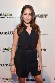 Jaina Lee Ortiz Photos Photos - Actress Jaina Lee Ortiz attends the Amazon red carpet premiere screening for brand-new dark comedy, 'Transparent,' at Ace Hotel on September 15, 2014 in Los Angeles, California. - 'Transparent' Premieres in LA — Part 2