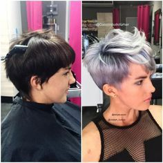 Pretty Root Shadow/Silver Melt For The Client With A Sensitive Scalp | Modern Salon