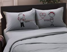 Listen to My Heart Lesbian Couples Pillowcases (Charcoal, Standard) Gift for Girlfriend Valentine's Anniversary Pillow Cases Wedding, Romantic Gift Idea for Her Cute Stick Figures Lgbt. Love Boyfriend, Boyfriend Gifts, Boyfriend Girlfriend, Still Falling For You, Couple Pillowcase, Valentine Day Gifts, Valentines, Anniversary Boyfriend, Anniversary Gifts
