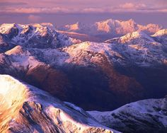 Sunrise on Ben Nevis.