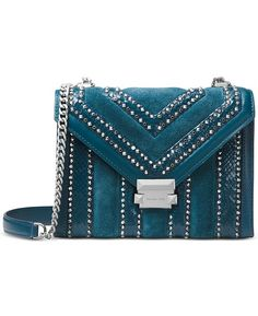 d6043e2d81 Michael Kors Whitney Embellished Shoulder Bag & Reviews - Handbags &  Accessories - Macy's