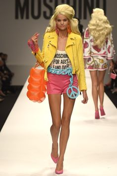 Moschino RTW Spring 2015 Photo by Giovanni Giannoni