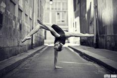 An unusual Ballet Dancer by Little Shao