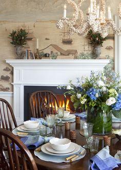 Nantucket Cliffs residence. Designer Jeannie Balsam.
