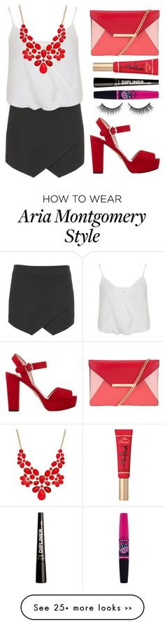 """Aria Montgomery ; Episode 09"" by zzeelleestyles on Polyvore"