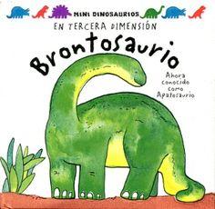 ¿Por qué el brontosaurio tenía el cuello tan largo? ¿Para qué tenía una cola tan larga? Si quieres saber más de él, levanta las solapas y descubre las respuestas en este divertido libro en tercera dimensión.
