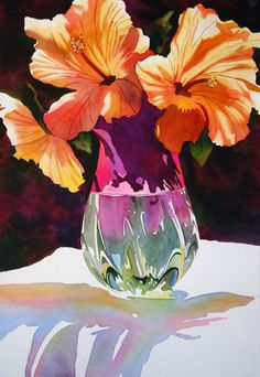 anne abgott. Flower petal coloring example.