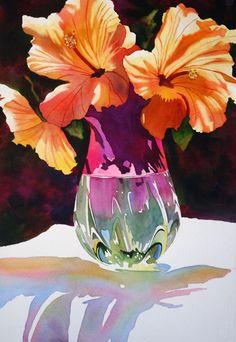 anne abgott. Flower petal coloring example.