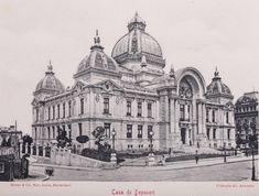 CEC palace old Bucharest vechiul Bucuresti Romania   Romania Dacia