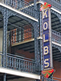 kolb's . st charles ave . new orleans . louisiana - I sang here as a kid in a German group I was in.