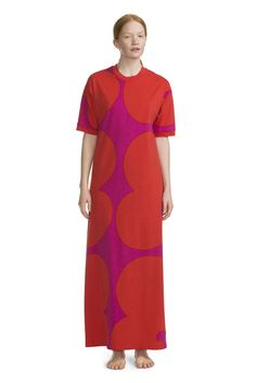 Tsufe Dress Red/Pink