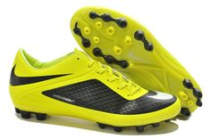 Best Nike Hypervenom Phelon AG Boots Sale Yellow Black White