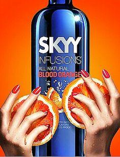 Skyy Vodka Blood Orange Ad