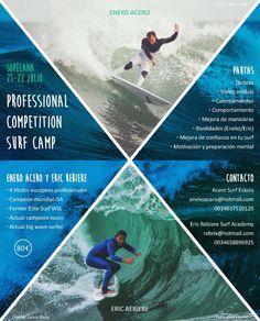 Aprende junto a dos de los grandes del #surf http://es.topsportholidays.com/vista-global-espana/event/surf-camp-sopelana-professional-competition/