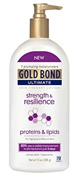 Gold Bond Ultimate Strength & Resilience Skin Therapy Lotion Firming Cream, Skin Firming, Best Lotion, Sagging Skin, Skin Elasticity, Body Lotions, Anti Aging Cream, Skin Cream, Body Care