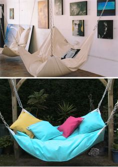 hammocks... I really just want this.