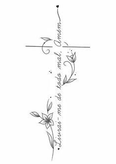 Mommy Tattoos, Family Tattoos, Future Tattoos, Vine Tattoos, Body Art Tattoos, Small Tattoos, Cross Tattoos For Women, Spine Tattoos For Women, Hand Written Tattoos