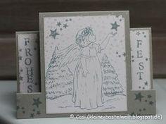 Kerstin's kleine Bastelwelt: Sternenfängerin; Center Step Card; Kanban Crafts