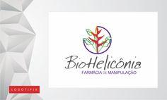 Logomarca desenvolvida para a farmácia de manipulação BioHelicônia