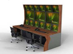 Enfost | Control Room ConsolesRack Mount Integrated - Enfost | Control Room Consoles