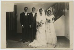 Vintage Wedding – Charming Black and White Photos of African-American Weddings in the Past