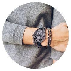 •shades of grey •#ohsocutethings #handmade #jewelry #greekdesigners #greekdesigner #madeingreece #instapic #instajewels #instafashion #bracelet #love #cute #instagood #instaphoto #fall16#shop #instamood #photooftoday #jewelrygram #fashion #fashionista #fashionjewelry #fashiongram #hippiechic #gems #semiprecious #stone #bling #grey