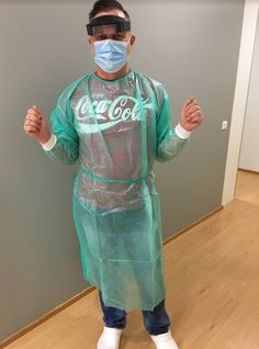 AAAM board certified physician, Dr Piotr Sikorski on his way to work. Might he enjoy Coca-Cola a little bit?