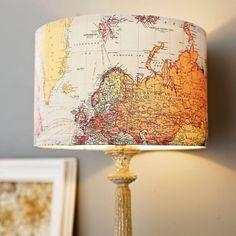 Lamp shade....I like this