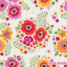 Silvia Dekker pattern design for Hema bedding