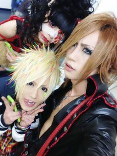 Meto, Tsuzuku, and Takeshi