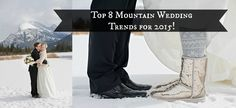 Top 8 Mountain Wedding Trends for 2015 2015 Wedding Trends, Wedding Planner, Destination Wedding, Emerald Lake, Canadian Rockies, Banff, Wedding Tips, Shots, Mountain