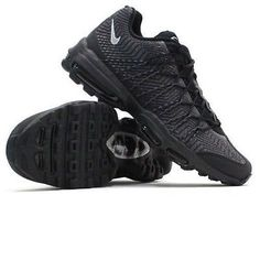 NEW NIKE AIR MAX 95 ULTRA JACQUARD BLACK ON BLACK RUNNING 749771 001 SZ 10.5 #Clothing, Shoes & Accessories:Men's Shoes:Athletic #