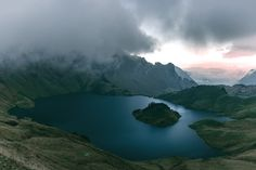 Lake Schrecksee lies squeezed in the Bavarian Alps and is well signposted from the trailhead.