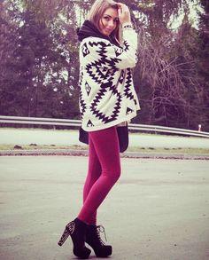 Women's Batwing Sleeve Cardigan Sweater #fallweather #sweaterweather