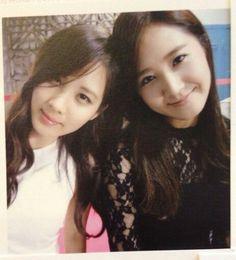 Kwon Yuri and Seohyun #seobaby