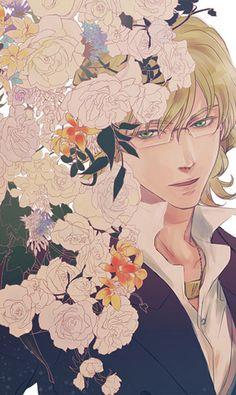 """""""Aishi no Bunny-chan wa Joukigen"""" yaoi doujinshi by Torimochi, Barnaby love anthology, Tiger & Bunny"""