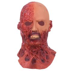 Scary Masks mascaras de latex realista Mummy Mask Adult Full Head Halloween Mask Fancy Party Cosplay Costume Theater Toy