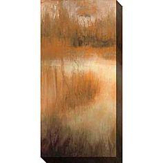 Caroline Ashton 'Brownwood Path II' Canvas Art | Overstock.com Shopping - The Best Deals on Canvas