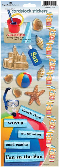 Scrapbooking-Stickers ~ Beach Wedding ~ Plage ~ MARIAGE ~ Amour JOLEE/'S