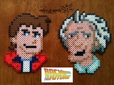 119 Best Perler Beads Back To The Future Images On