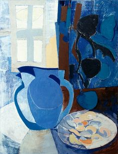 Blue Jug and Oysters, Tom Cross