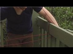 Knot Tying Instructions: Hitches : Using a Taut Line Hitch - YouTube