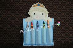 crayon holders-ice queen