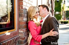 Romantic San Juan Capistrano Train Station Engagement Shoot | Katie and Nielsen / just added