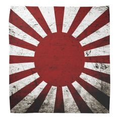 Shop Black Grunge Japan Rising Sun Flag Bandana created by electrosky. Personalize it with photos & text or purchase as is! Sun Background, Tattoo Background, Japanese Sun Tattoo, Rising Sun Tattoos, Rising Sun Flag, Samurai Artwork, Black Grunge, Red Sun, Colorful Backgrounds