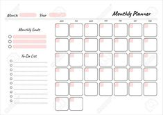 To Do Planner, Daily Planner Pages, Daily Planner Printable, Study Planner, Calendar Printable, Life Planner, Bullet Journal School, Bullet Journal Ideas Pages, Monthly Planner Template