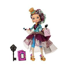 Ever After High Legacy Day Madeline Hatter Doll ($25) ❤ liked on Polyvore featuring dolls