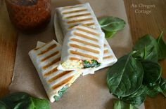 Mediterranean+Breakfast+Wraps+-+freezer+friendly+and+flavorful