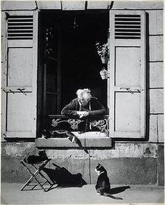 mimbeau:  Concierge Paris 1946 Brassaï