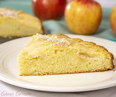 Moist and buttery cake meets fall apples in Apfelkuchen, a classic German Apple Cake that is the perfect recipe for a fall dessert. Apple Kuchen Recipe, German Apple Cake, Apple Slices, Fall Desserts, Perfect Food, Apple Recipes, Cornbread, Clever, Sweets